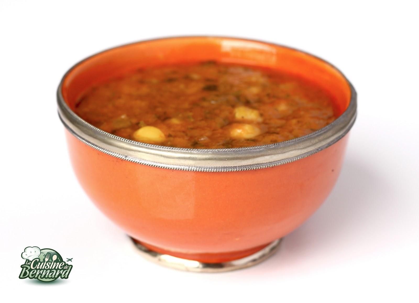 La cuisine de bernard harira for A cuisine de bernard