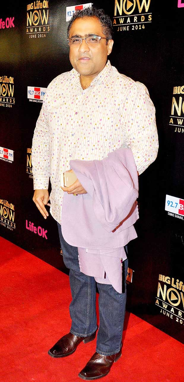 Kunal Ganjawala At Life Ok Now Awards 2014