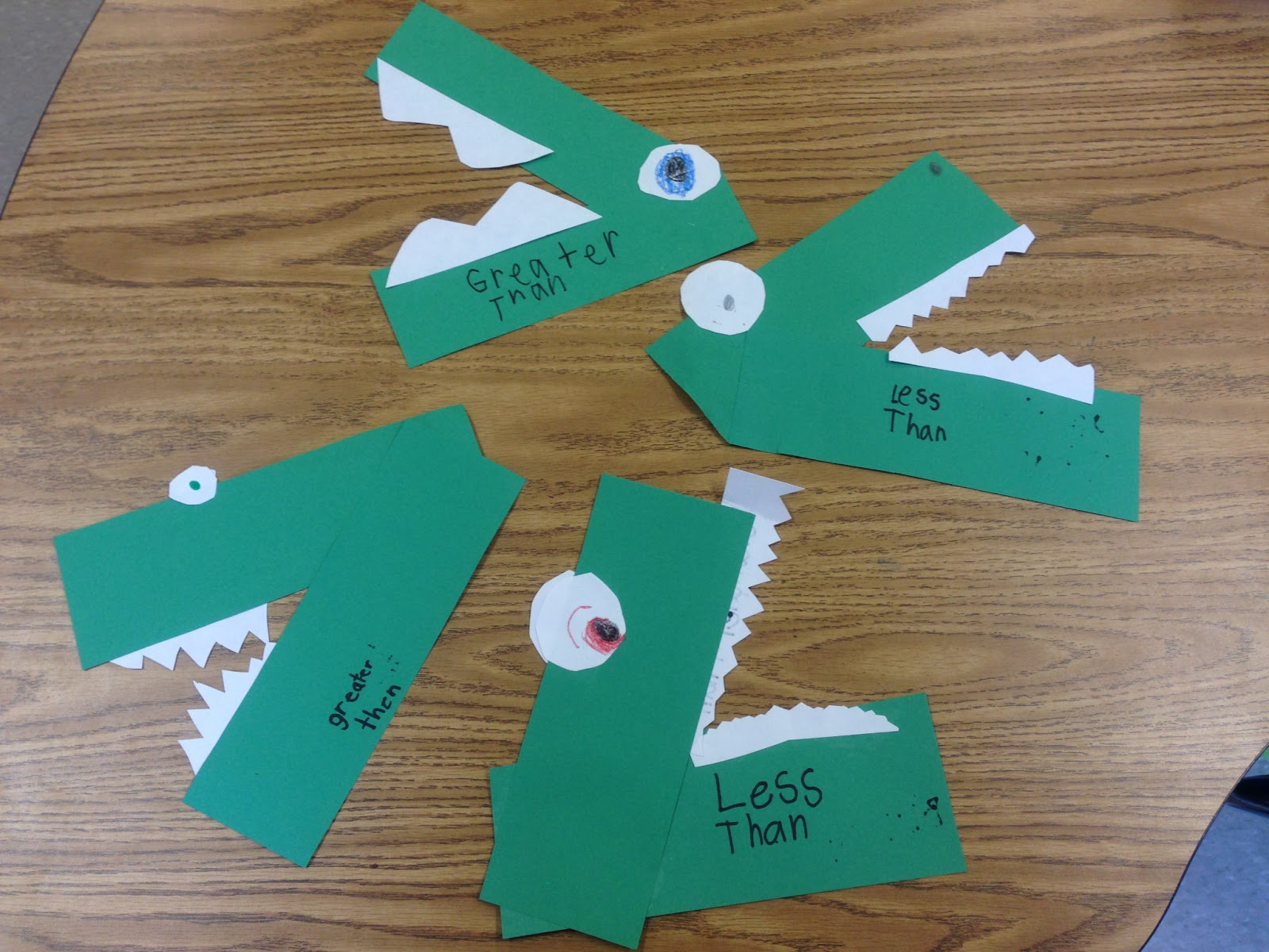 A sunny day in first grade greater thanless than crocodile our crocs in action publicscrutiny Gallery