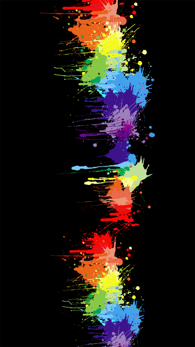 free download rainbow colors iphone 5 hd wallpapers free