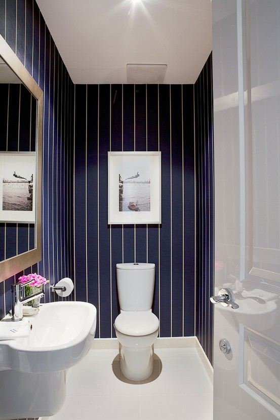 What Is A Powder Room house & home: powder rooms that pack a punch