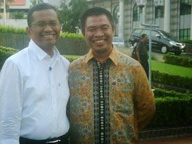 With Bpk Dahlan Iskan