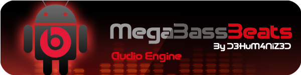 increase sound of galaxy y with MegaBassBeats audio sound enchancer