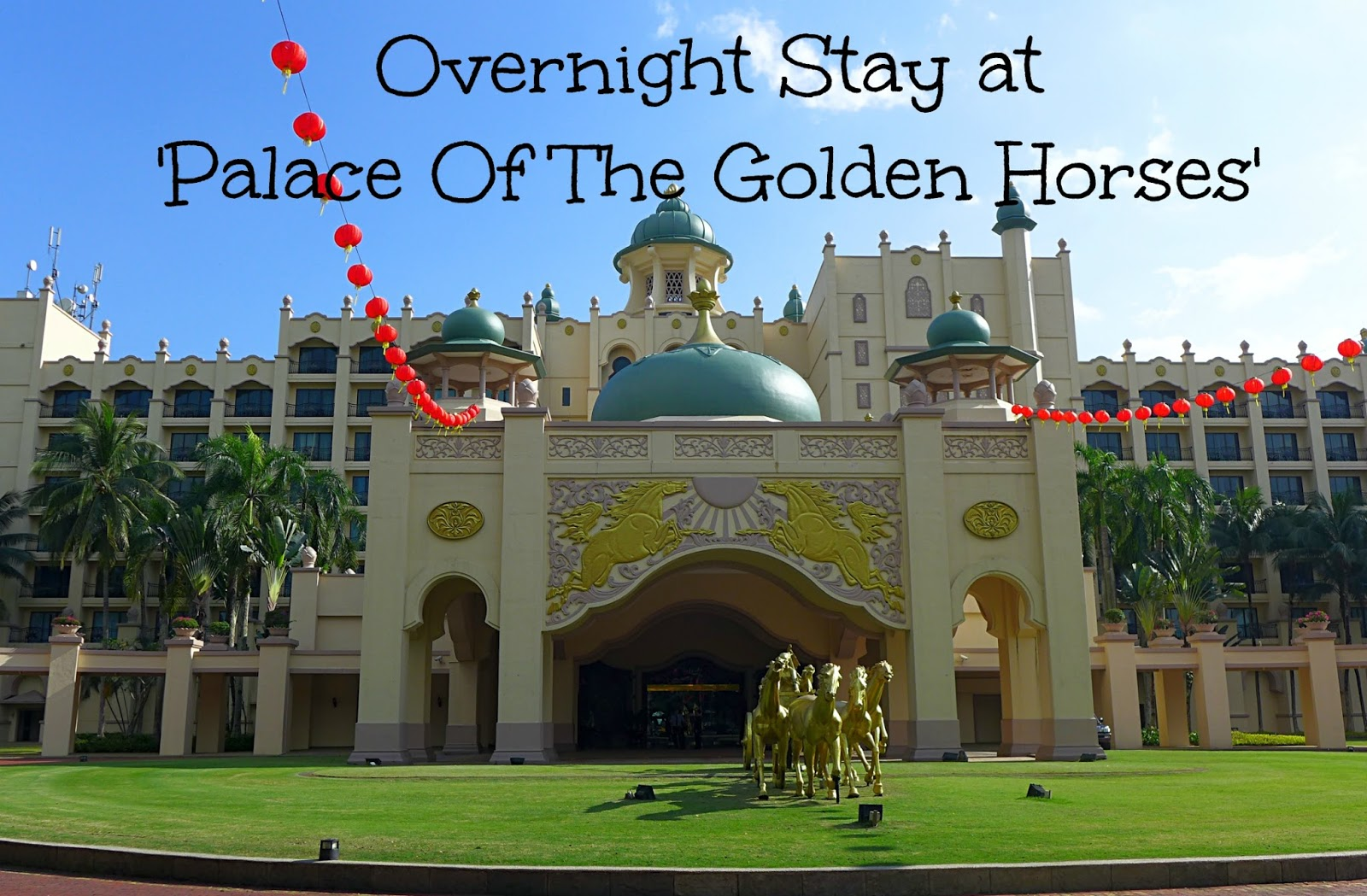 Faith luv 2 eat n travel overnight stay at 39 palace of - Palace of the golden horses swimming pool ...