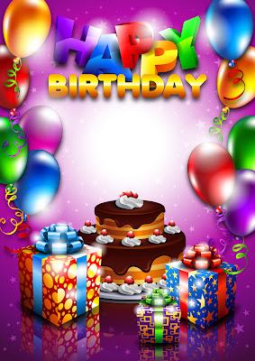 Postales e imágenes de cumpleaños con mensaje happy birthday