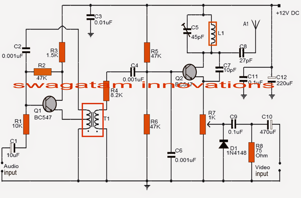 Simple Tv Transmitter Circuit