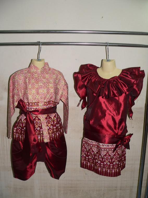 ชุดอาเซี่ยนประจำชาติไทย มีไซน์SSS-XLชุดเด็กชายSSS-S