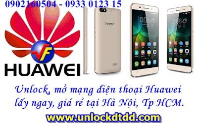 Chia se dia chi chuyen unlock mo mang tat ca dien thoai Huawei uy tin gia re tai Ha Noi