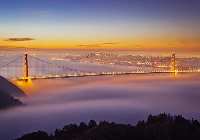 Ciudades conquistadas por la niebla - Golden Gate