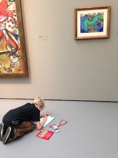 Chagall Exhibition in Zurich