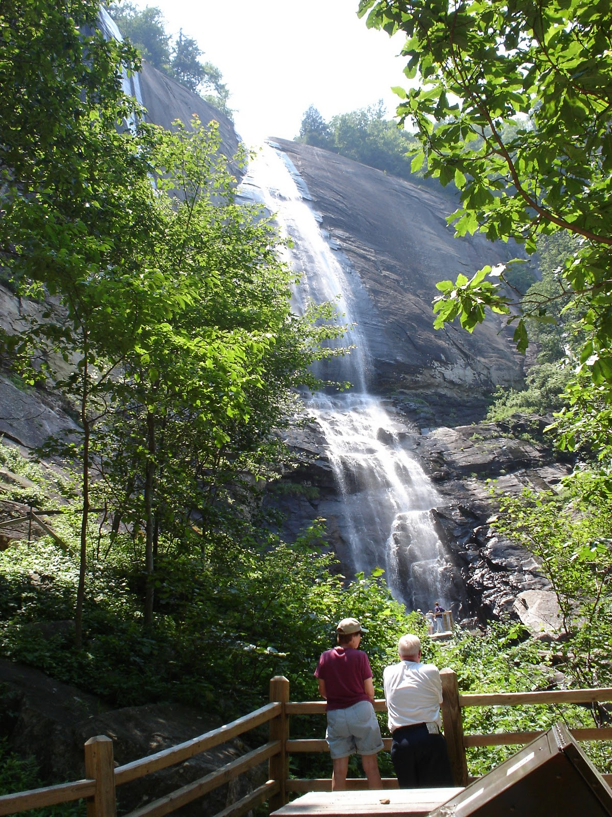 Enjoy a free guided hike to the tallest waterfall on the east coast, Hickory ...