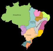 BACIAS HIDROGRÁFICAS DO BRASIL FIG.1 MAPA DAS PRINCIPAIS BACIAS . (mapa das bacias)
