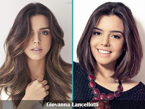 cabelo curto comprido famosas celebridades estilo hair Giovanna Lancellotti