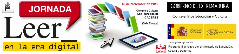 "Jornada ""Leer en la era digital"""