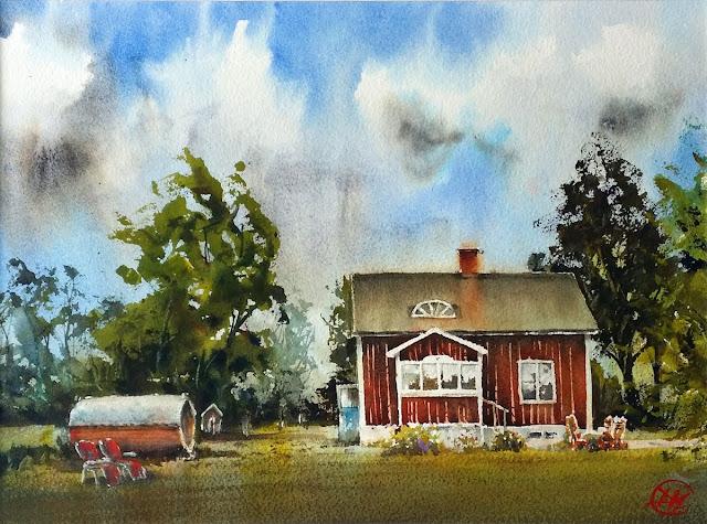 Summer house by David Meldrum