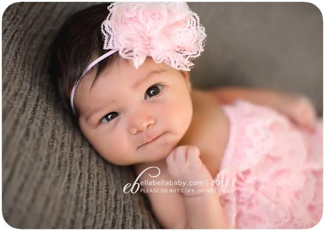 Belle Photographe bébé fille