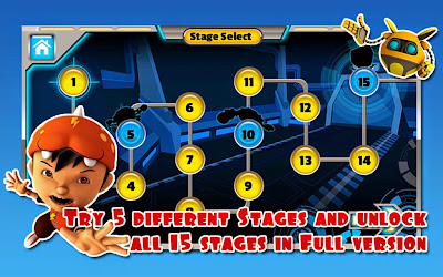 Game BoBoiBoy: Adudu Attack for Android