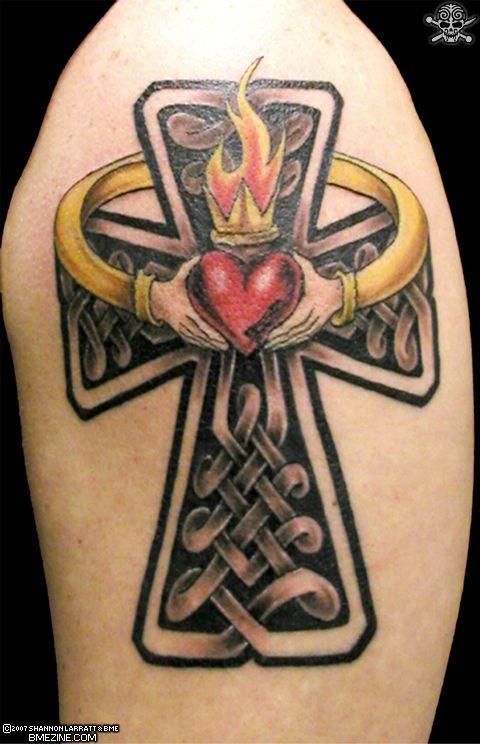 cross wings tattoo. Wings. Tattoos Gallery