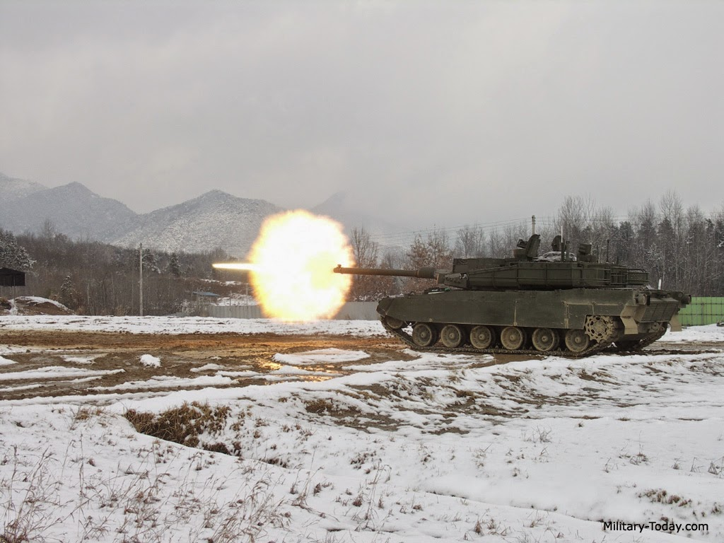 K2 MBT Firing