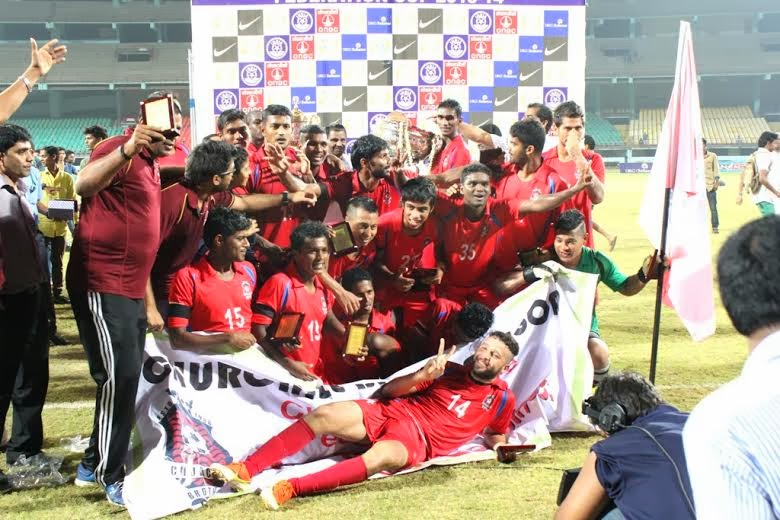 Churchill Brothers win Federation Cup 2014