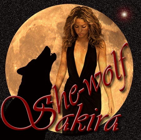 shakira she wolf wallpaper. Shakira She Wolf