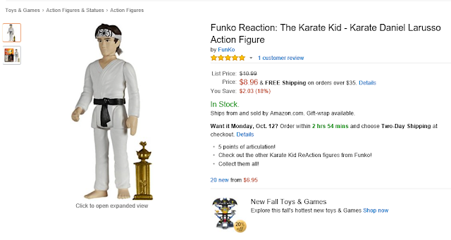 Daniel Larusso in competition gui by Funko