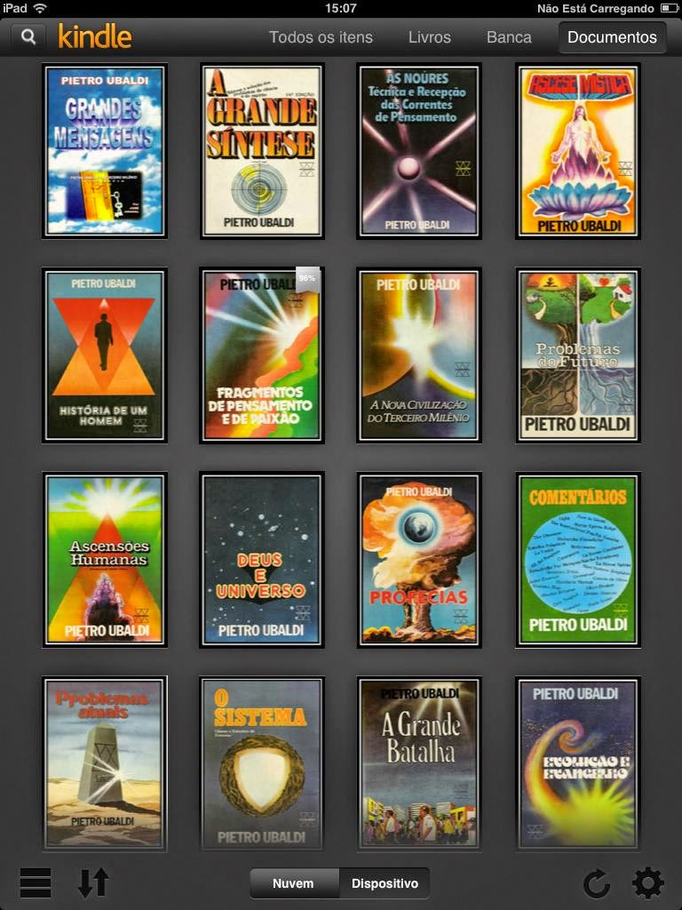 Download da Obra Completa de PIETRO UBALDI para eBook (Kindle)