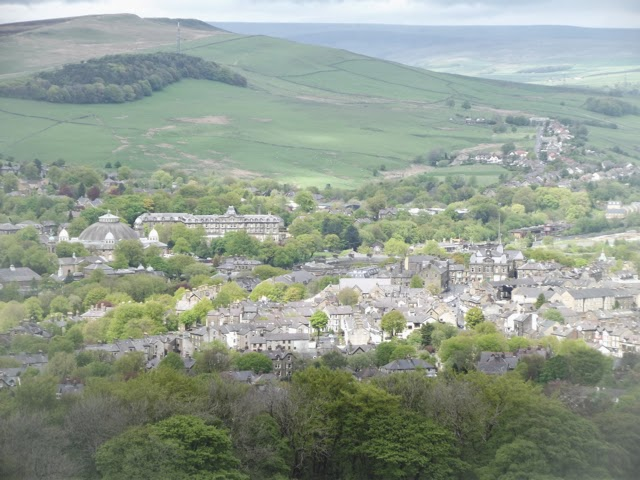 Buxton from Solomon's Temple Buxton Country Park