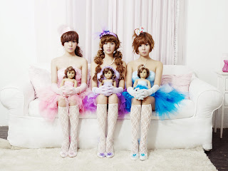 Orange Caramel Wallpaper HD 7