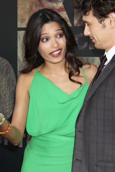 Freida Pinto' with her hollywood co-star unseen Freida Pinto' leaked shocking hot pics hd bollywood actress hot pics gallery