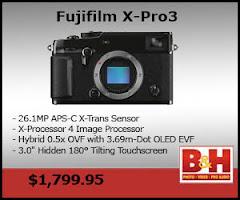 NEW FUJIFILM X-Pro3 CAMERA