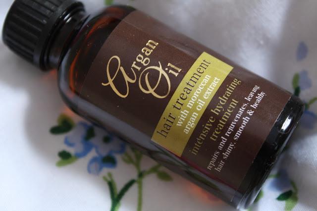 Pound Shop Argan Oil Hair Treatment
