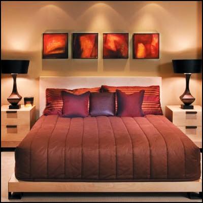 TIPS :: Dekorasi warna dan idea bilik tidur menarik dan romantik