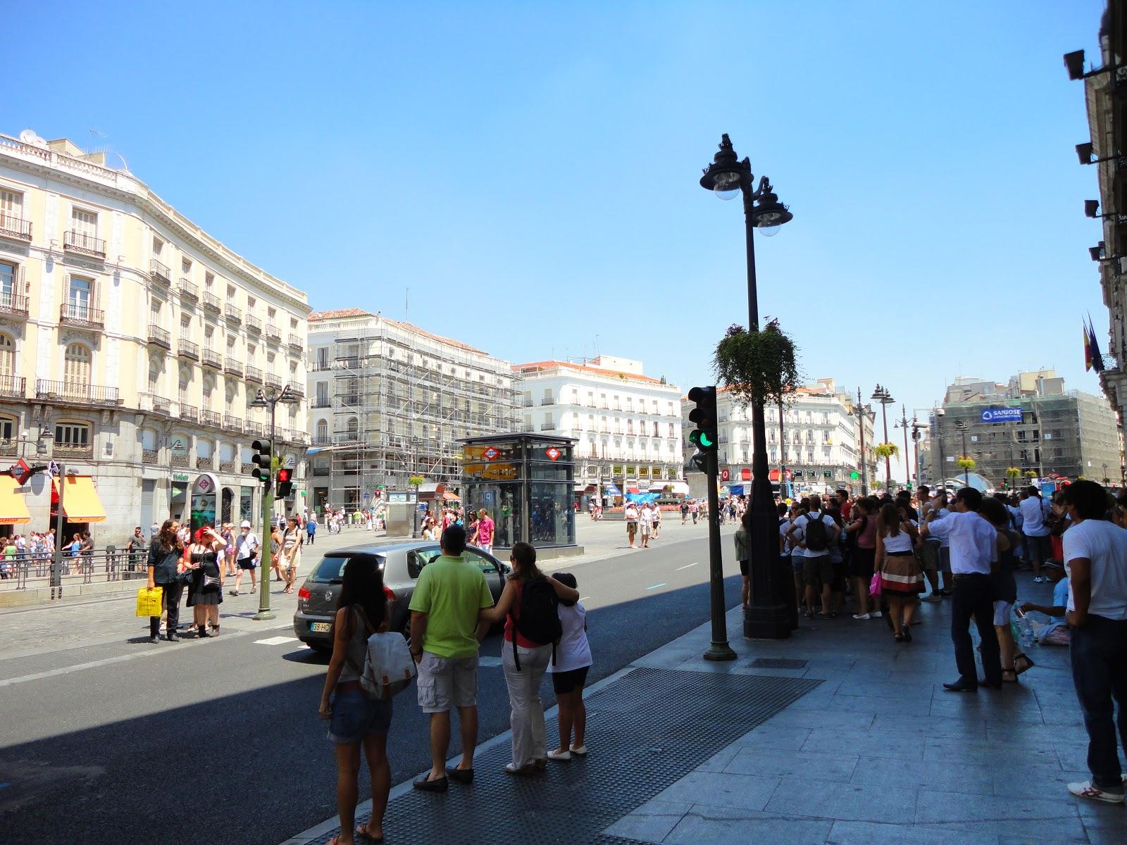 Viagens xl viagem a madrid dia 2 for Puerta del sol 4