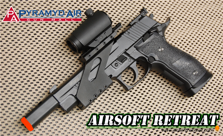 SIG Sauer/KWC X-Five IPSC CO2 GBB Pistol | Booligan's Airsoft Reviews