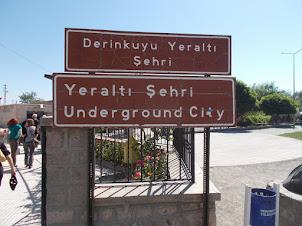 Entrance  gate to Derinkuyu Underground City.