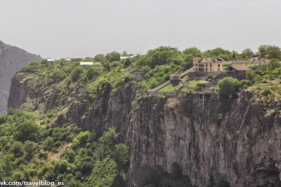 Вид со смотровой площадки Гарни