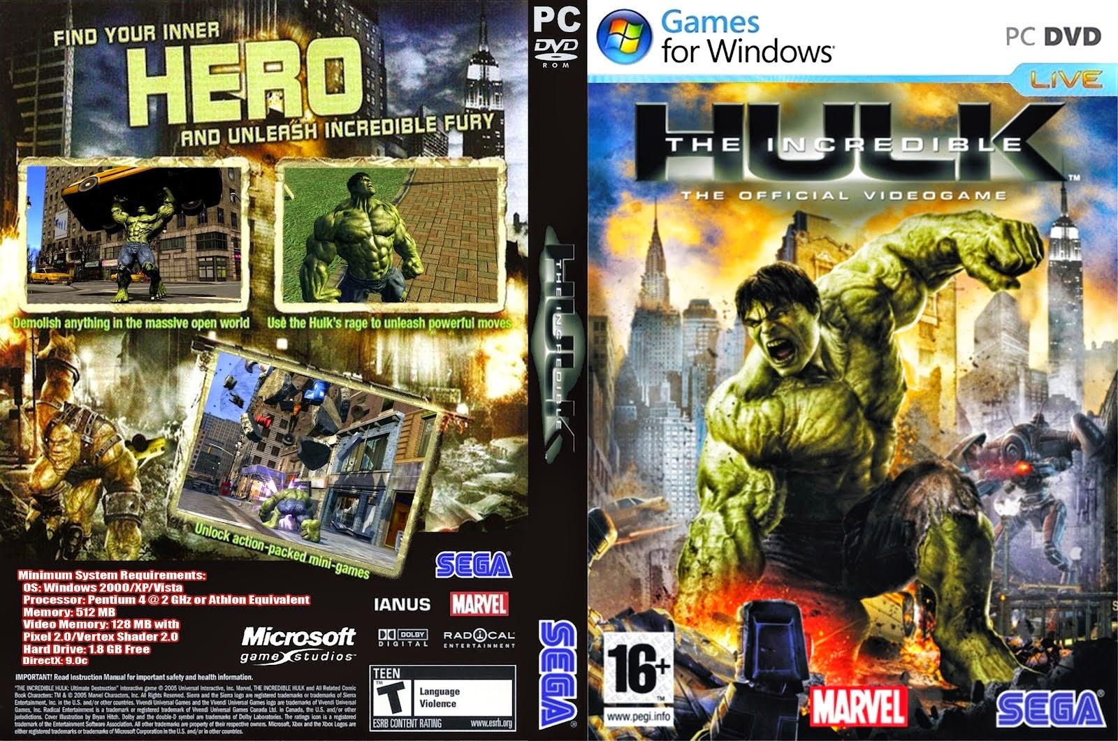 Incredible Hulk 1 Game