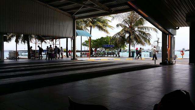 Terminal Aeropuerto Ibrahim Nasir de Male (Las Maldivas)