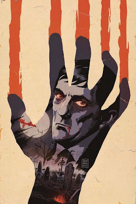 Cover of Dark Shadows #2 by Francesco Francavilla from Dynamite Entertainment