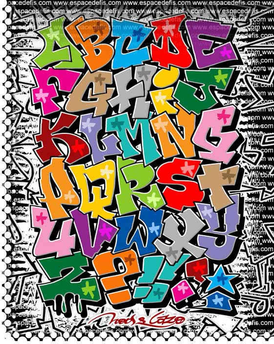 Graffiti letters best graffitianz - Graffiti alfabet ...