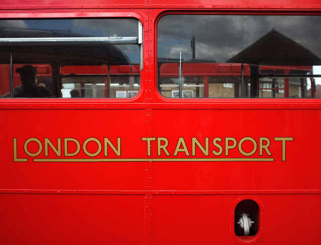 London Transport Red Bus. Photograph by Tim Irving