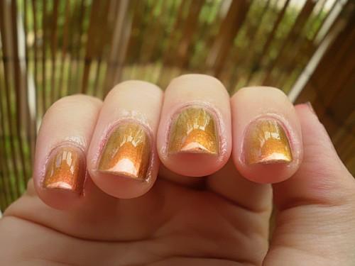 vernis à ongles, 502, soleil, reflets