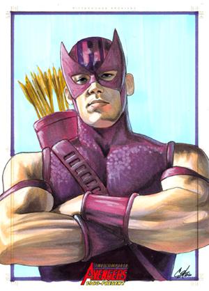 Avengers:Hawkeye por gattadonna