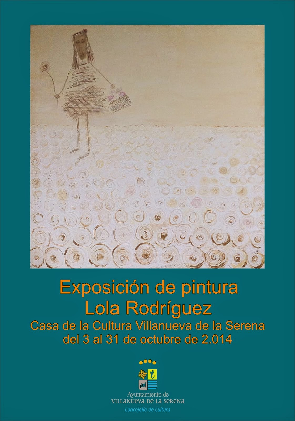 Exposición de pintura de Lola Rodríguez