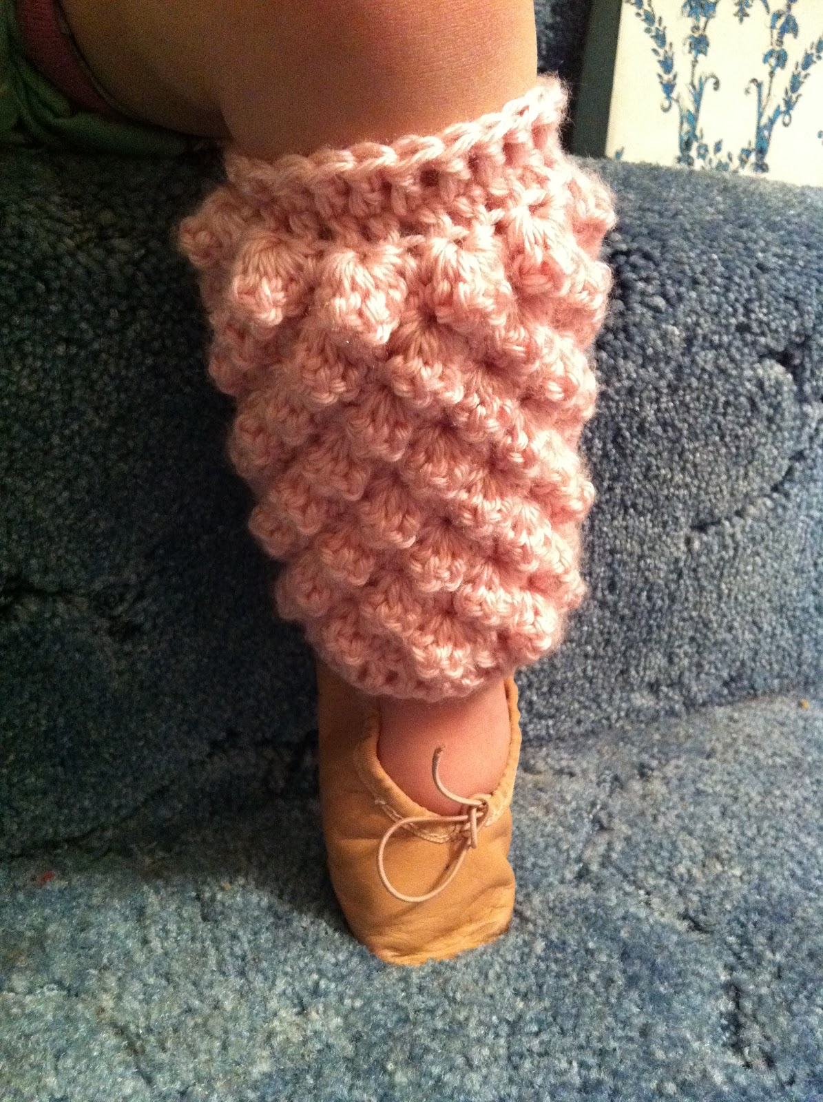 Design Adventures: Toddler Popcorn Ballerina Leg Warmers