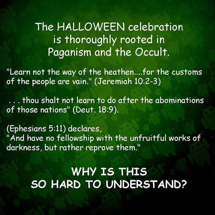 the seven sins of halloween