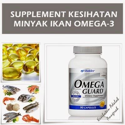 omegaguard shaklee: minyak ikan omega-3 yang membantu menjaga jantung anda.