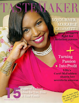 Thrilled to be on the Cover of Atlanta Tastemaker Magazine (Click)