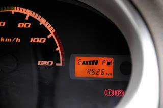 new Tata Nano Lx 2012 speedometer